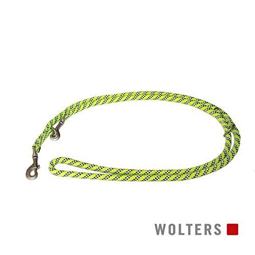 Wolters | Führleine Everest reflektierend gelb/schwarz | L 200 x B 1,3 cm