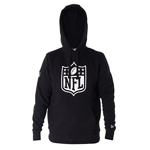 New Era Herren Kapuzenpullover NFL Logo Hoodie Schwarz