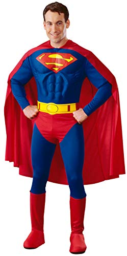 DC Comics Deluxe Muscle Chest Superman Costume,