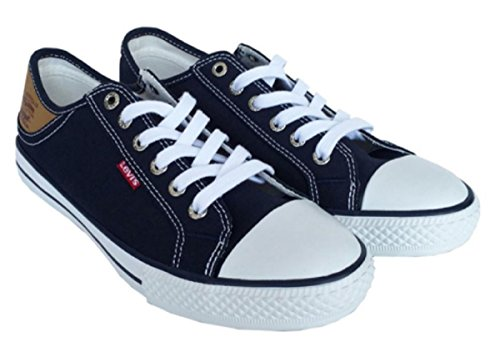 Levis Mens Canvas Sneaker Shoes