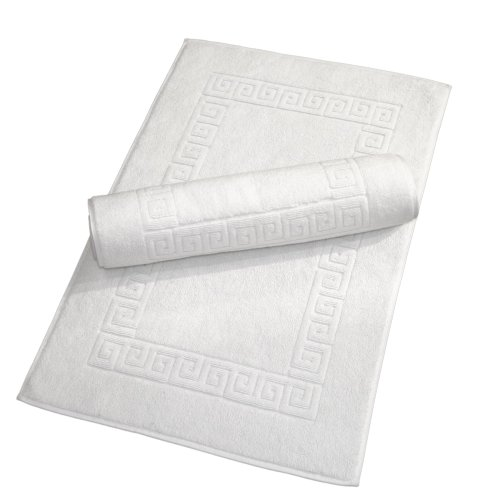 - Linum Home Textiles Greek Key Bath Mats, Set of 2