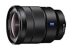 Sony 16-35mm Vario-tessar T Fe F4 Za Oss E-mount Lens (International Model) No Warranty