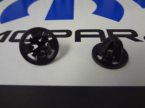 SET of (X2)07-12 Dodge Ram 1500 2500 3500 Tail Lamp Tailamp Lights Clip Nut Retainer Mopar (Light Retainer Tail)