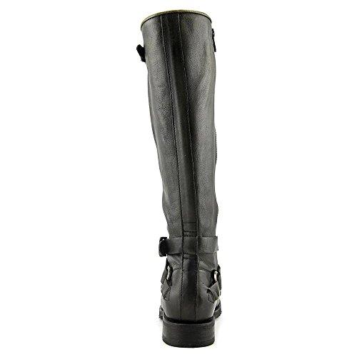 Frye Womens Veronica Criss Cross Tall Boot Zwart Brush Off
