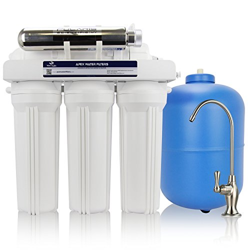 Filtering System (EXPRT APEX MR-6051 Drinking Water Filter System with Advanced Disinfectant UV Reactor)