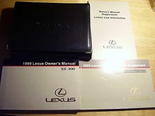 1999 lexus es300 es 300 owners manual lexus amazon com books rh amazon com 1999 lexus gs300 repair manual pdf 1999 lexus es300 repair manual