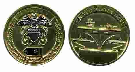 (Navy Ensign Rank Challenge Coin)
