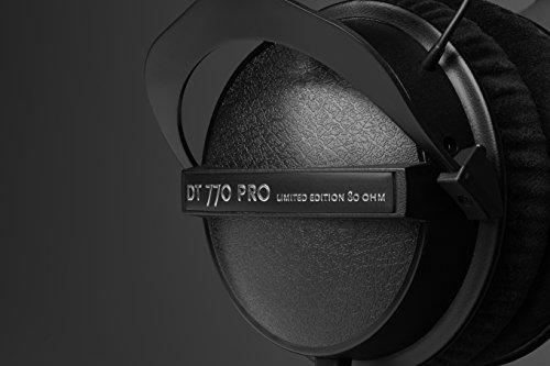 41n4Rsf qlL - beyerdynamic DT 770 Pro 80 Limited Edition Headphones, Black