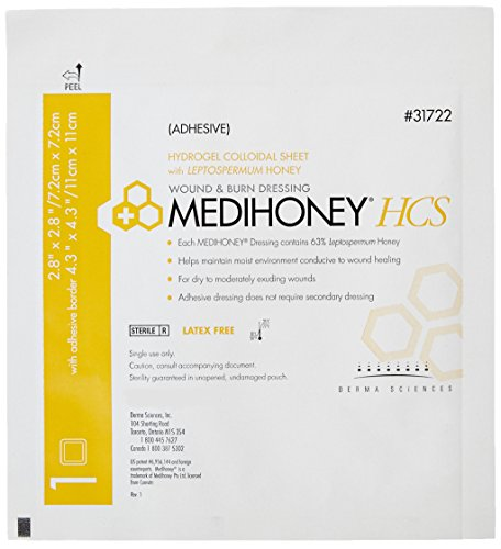 MEDIHONEY® HCS, Adhesive: 2.8