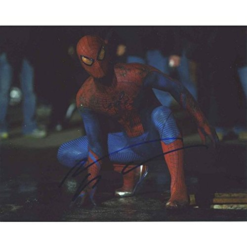 Andrew Garfield 'The Amazing Spiderman' Signed 8x10 Photo Certified Authentic PSA/DNA COA