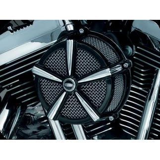 Kuryakyn 9535 Hi-Five Mach 2 Air Cleaner for Harley-Davidson Twin ()