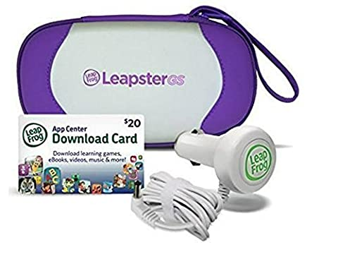 Leapster GS Travel and Play Accessories - Leapfrog Car Adapter