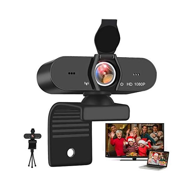 SFABF 1080P WebcamUSB Webcam with Microphone PC Web Camera for Computer DesktopHD Web Cam Video C