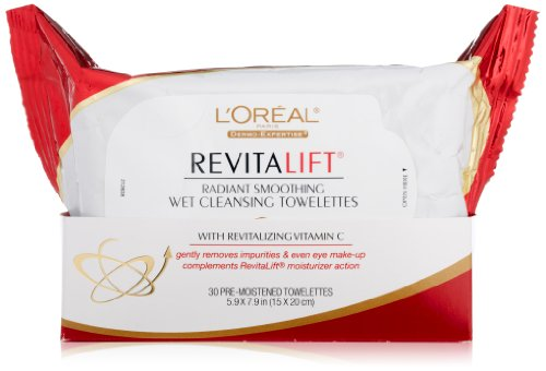 LOreal Paris RevitaLift Smoothing Towelettes