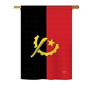 Angola Breeze decoración grande bandera 28pulgadas por 40pulgadas
