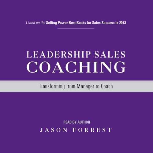 Price comparison product image Leadership Sales Coaching: Audiobook