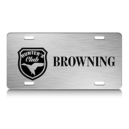 custom license plate browning - 4