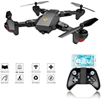 XS809W Foldable RC Quadcopter with Altitude Hold FPV VR Wifi Wide-angle 720P 2MP HD Camera 2.4GHz 6-Axis Gyro Remote Control XS809HW Drone