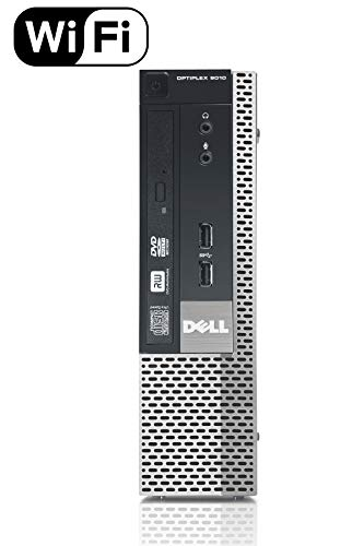 Dell Optiplex 9010 SFF Desktop PC - Intel Core i5-3470 3.2GHz 16GB RAM 240GB SSD DVD Windows 10 Pro, WIFI (Certified Refurbished)