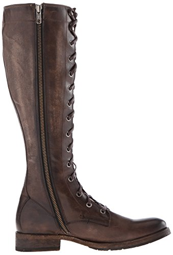 Frye Women's Melissa Tall Lace Riding Boot, Brown Slate