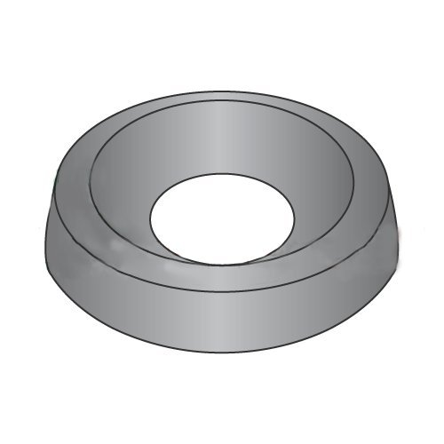 #4 Countersunk Finishing Washers/Steel/Black Oxide/Outer Diameter: 3/8''/Thickness: 3/32'' (Carton: 10,000 pcs)