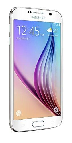 Samsung Galaxy S6, White Pearl 128GB (Verizon Wireless) Size: 128 GB ServiceProvider: Verizon Wireless Color: White, Model: Galaxy S6, Electronics & Accessories Store