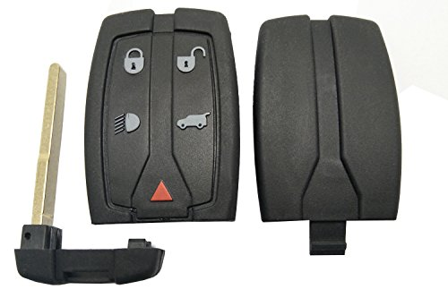 Replacement Key Fob Case for Land Rover LR2 LR4 Range Rover Sprot Keyless Entry Remote Control Key Fob Case