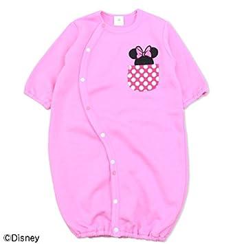 de387871024d4 ミニーマウス 長袖 ツーウェイオール ベビー キッズ 子供服 兼用ドレス カバーオール 裏毛 女の子 DISNEY