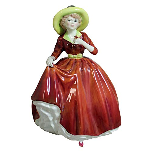 Royal Doulton Pretty Ladies Figurine - A Single Red Rose
