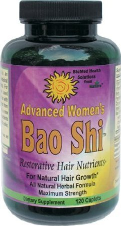 Biomed Health Advanced Women's Bao Shi Restorative Hair Nutrients Caplets, 120 Count by Biomed Health