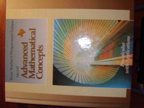 Advanced Mathematical Concepts Precalculus with Applications Texas Teacher's Wraparound Edition - Luv Wrap