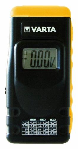 Varta LCD Digital Battery Tester Batteries