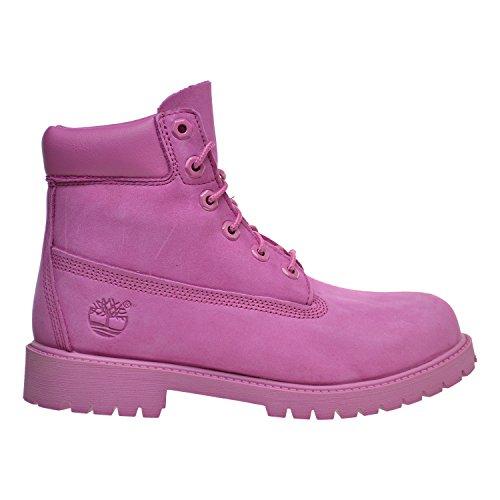 Timberland Kids Girl's 6'' Classic Boot (Little Kid/Big Kid) Ibis Rose Nubuck Boot 6 Big Kid M by Timberland