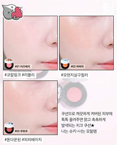 VT BT21 / VT cosmetics x BTS/CHEEK CUSHION BLUSH/blush makeup