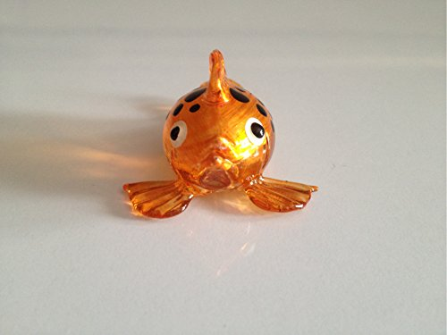 Fish Figure Dollhouse Miniatures Animals Orange