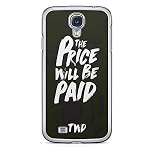 Samsung Galaxy S4 Transparent Edge Case The Walking Dead Price Will Be Paid