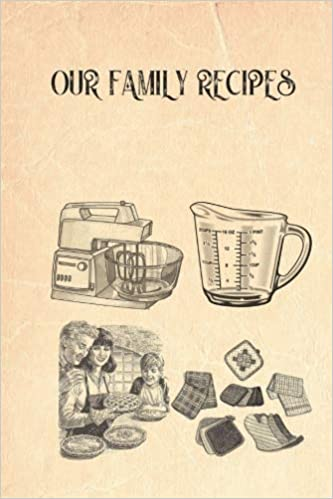 our family recipes recipe template pages for handwritten recipes