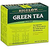 Bigelow Classic Green Tea Bags 40-Count Boxes (Pack of 6) Caffeinated Individual Green Tea Bags, for Hot Tea or Iced Tea, Drink Plain or Sweetened with Honey or Sugar