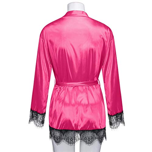 Nightwear women Hot Mujer Para Pink Bata Giulogre 5RfWPxwqP