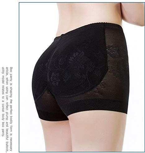 Swbreety Womens Seamless Butt Lifter Padded Lace Panties Enhancer Underwear