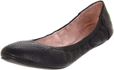 Vince Camuto Women's Ellen Ballet Flat,Black,5 M US