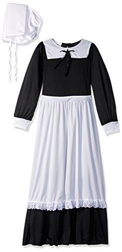 [California Costumes Pilgrim Girl Child Costume, Large] (Boy Pilgrim Costumes)