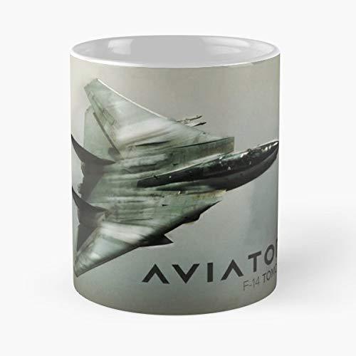 (Tomcat Aviation Gift Coffee/tea Ceramic Mug 11 Oz)