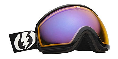 (Electric Eg2 Gloss Black Yellow Blue Oversized Ski Snowboard Goggles)