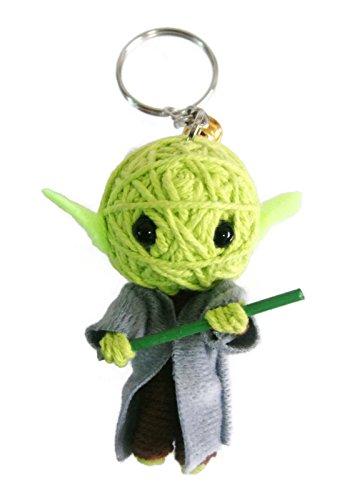 Yoda Star Wars Voodoo String Doll Keychain Keyring (Star Wars Yoda Keychain)
