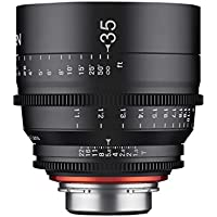 Rokinon Xeen XN35-MFT 35mm T1.5 Professional Cine Lens for Micro Four Thirds Interchangeable Lens Cameras (Black)