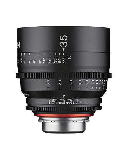 Rokinon Xeen XN35-NEX 35mm T1.5 Professional Cine Lens for Sony E Mount Interchangeable Lens Cameras (Black)