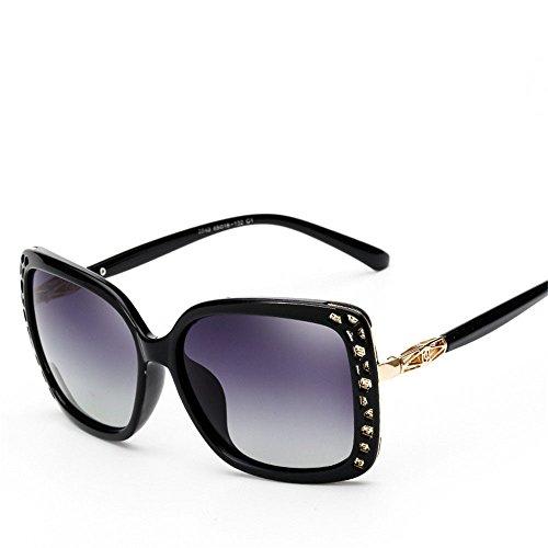 Chahua Les femmes dans les lunettes, lunettes retro big box lunettes brillant E