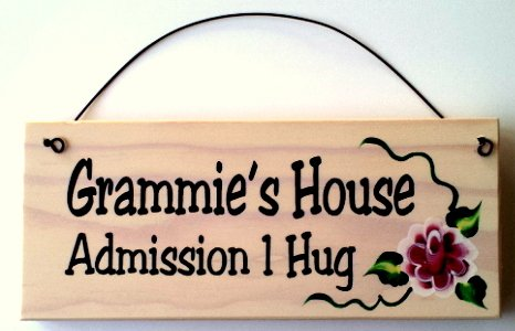 All About Signs 2 Grammies House Wood Sign