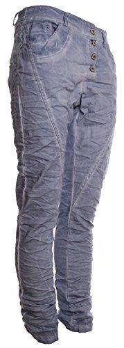 Jeansblau Stonewash donna da Jeans Basic Boyfriend de Ynx1Pqnwpf